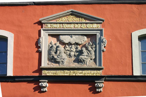 Relief am Kloster